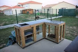 fabriquer une cuisine en bois cuisine extérieure 02 09 2010 notre maison ossature bois en