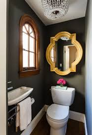 Ideas For Small Powder Room - stunning new small powder room decor angle sitting unique glides