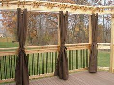 Outdoor Privacy Blinds For Decks Coolaroo Privacy Curtains U0026 Shade Fabric Lee Valley Tools
