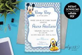 baby mickey baby shower baby mickey baby shower invitation baby shower invitation