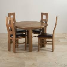 Round Dining Table Extends To Oval Dining Room Clifton Steel Oak Table More Narrow Pictures With