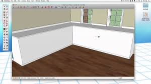 sketchup 29 kitchen cabinets youtube
