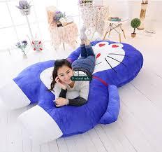 dorimytrader 200cm x 180cm japan anime beanbag soft doraemon