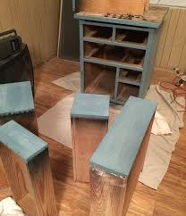 Woodworking Garage Cabinets Beat Up Garage Cabinet Becomes A Custom Kitchen Countertop Base