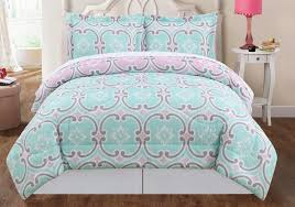 Light Blue And White Comforter Bedding Luxury Mint Bedding Twin Xl Blue Light Teal Ruched