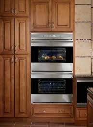 modern kitchen oven wolf stainless steel built in oven double wall oven extra large