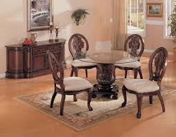 table round formal dining room table southwestern expansive