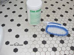 easy tile grout cleaning ask the builderask the builder