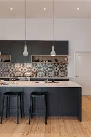 modern kitchen black cabinets 39 black kitchen cabinet ideas entering the side