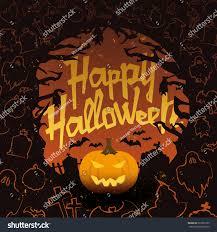retro vintage halloween vector background grunge stock vector