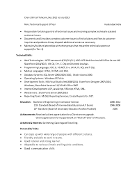 Sample Resume Net Developer by Sharepoint Developer Resume Sample