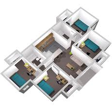 2 Bedroom Apartments In New Orleans Privateer Place Apartments Uno Housing University Of New Orleans