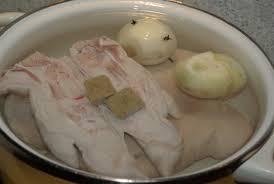 cuisiner pied de porc croustillants de pied de porc balade gourmande de cécile