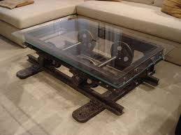 Rustic Industrial Coffee Table Rustic Industrial Coffee Table For Living Room Rustic Industrial