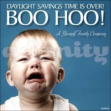 boo hoo daylight savings time is boo hoo daylight savings