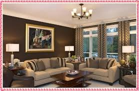 living room color combinations for walls brown color scheme in contemporary living room design wall painting