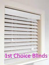 Made To Measure Venetian Blinds Wooden White Venetian Blinds Ebay