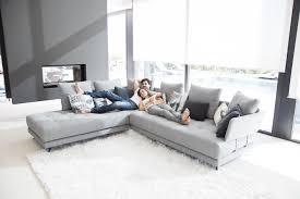 jetée de canapé d angle acheter votre canapé d angle assise matelassée coussins jetés chez