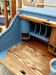 Chalk Paint Desk by Nine Red Of Restoration Diy Chalk Paint