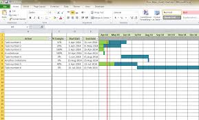 Excel Template For Gantt Chart Excel Templates Jeffreyellis Org