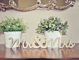 mr mrs wedding table decorations head table decor mr mrs wood wedding decoration by sayhelloshop