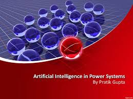 artiicial intelligence in power system