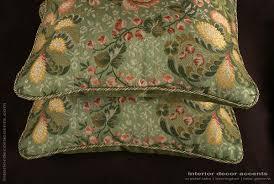 old world weavers brocade kravet velvet elegant accent pillows