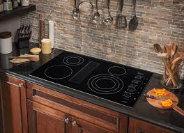 Electric Cooktop With Downdraft Exhaust Frigidaire Rc36de60pb 36 Inch Electric Cooktop With 4 Smoothtop