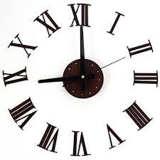 abstract clocks europe digital wall clocks diy vintage wooden wall clock roman