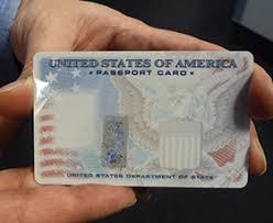how to get a passport card
