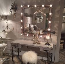 Bedroom Vanities With Lights Stylish Bedroom Vanities With Mirrors Throughout Gorgeous Table