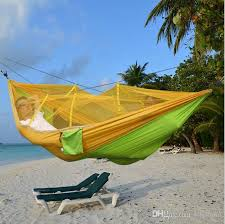2017 outdoor furniture hammock bed double parachute camping
