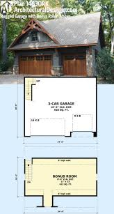 2 Story Garage Plans With Apartments Garage Plans Apartment Detached Garge House Plan 20 119 Front