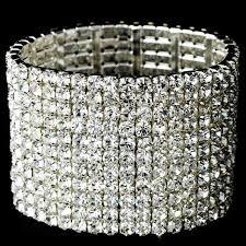 rhinestone bracelet images Glamorous 11 rhinestone stretch bracelet djb021 94 00 jpg