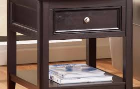 Espresso Accent Table Drawer Btdmuds Beautiful 2 Drawer End Table Design Amazon Com