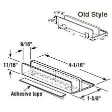 9 16 opening international sliding shower door bottom nylon