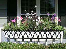 outdoor railing planters lowes balcony rail planters railing
