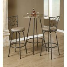 Marble Bistro Table And Chairs Marble Pub Tables U0026 Bistro Sets You U0027ll Love Wayfair