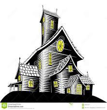 scary haunted house illustration stock image image 20651541