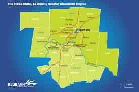 Map Of Cincinnati Accessible Location