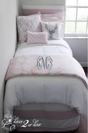 Dorm Bedding For Girls by Bella Pale Pink Neutral Dorm Bedding Burckle Place Pinterest