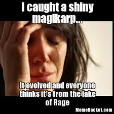 Magikarp Meme - i caught a shiny magikarp create your own meme