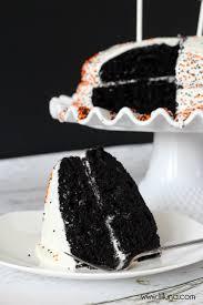 black and white velvet cake