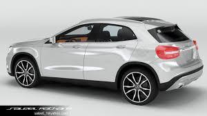mercedes 2015 models 3d model mercedes gla 2015 cgtrader
