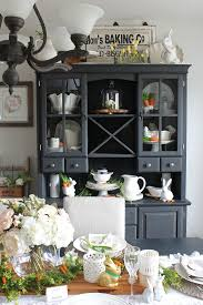 Spring Decorating Ideas For The Home Easter Dining Room And Easter Tablescape Decorating Ideas Clean