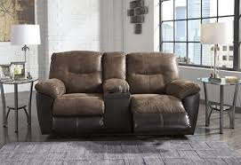 Ashley Reclining Loveseat With Console Best Furniture Mentor Oh Furniture Store Ashley Furniture
