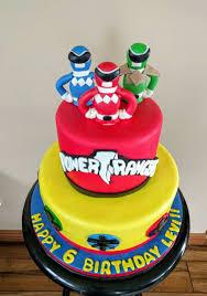 power rangers cake toppers power ranger birthday cakes power ranger