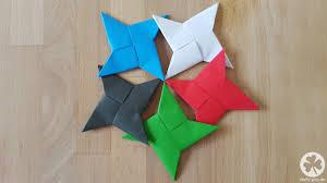 suspension origami diy diy wurfstern ninjastern origami ninjago party origami and