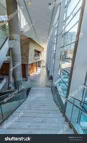 stairs modern lobby hallway plaza luxury stock photo 387415078