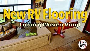 Youtube Laminate Flooring Installation Videos Remodeling My Rv Interior Part 5 New Rv Slide Flooring Youtube